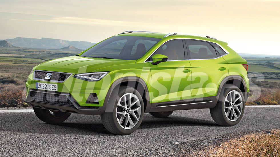 Seat lanzará un SUV coupé, con base Ateca y bajo la marca Cupra