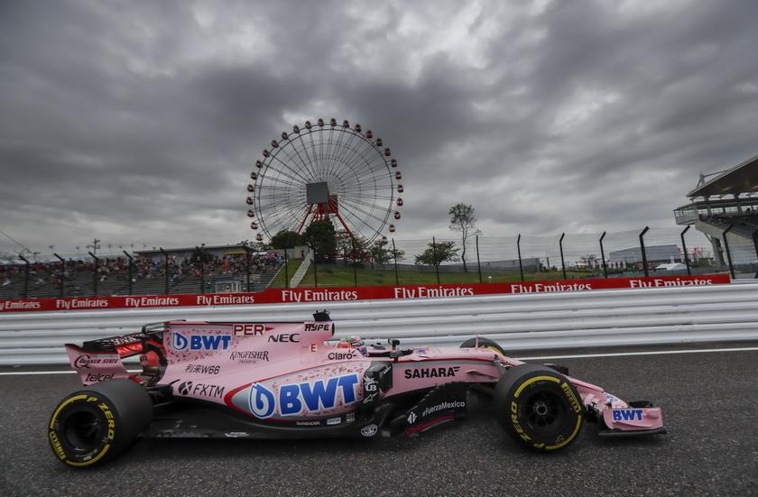 GP de USA: Pérez es séptimo de la clasificación de pilotos