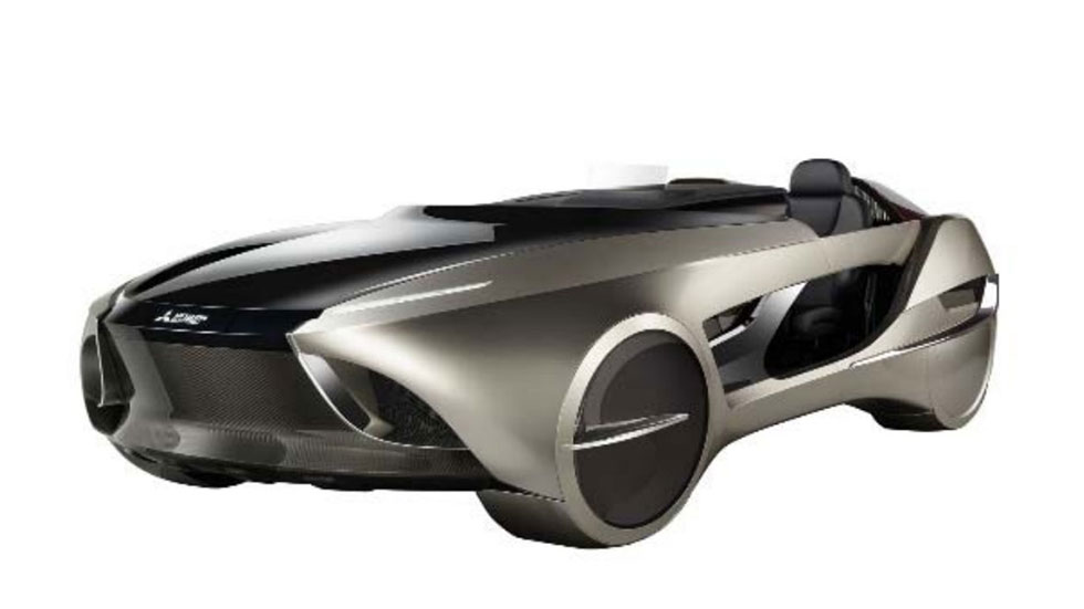 Mitsubishi Electric Emirai 4 Concept: el roadster del futuro
