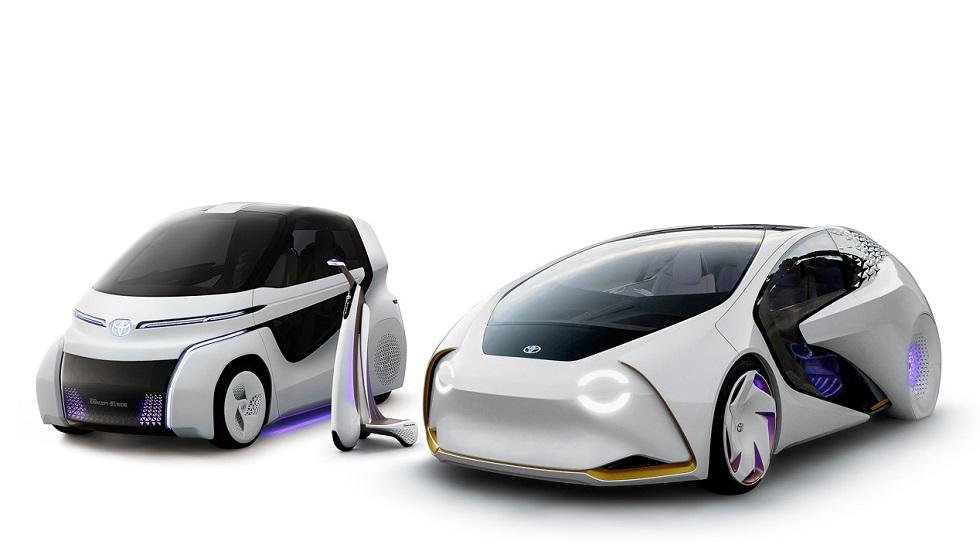Toyota Concept-i: nuevos prototipos eléctricos en el Salón de Tokio 2017