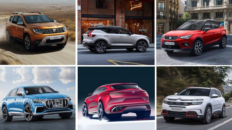 Todos los nuevos SUV que llegan al mercado: calendario de fechas