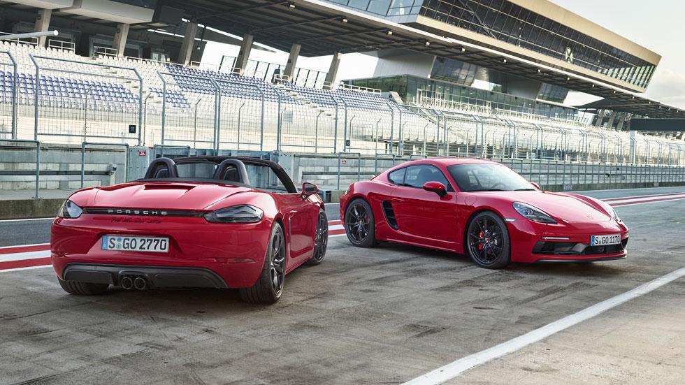 Porsche 718 Cayman y Boxster GTS, con motores más potentes