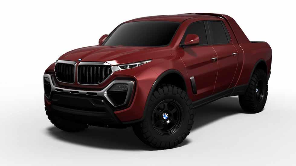 Así puede ser el nuevo pick-up de BMW: ¡a por el Mercedes Clase X!