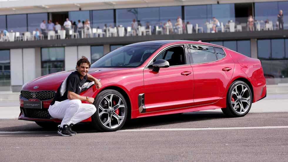 Kia Stinger, el nuevo coche de Rafa Nadal