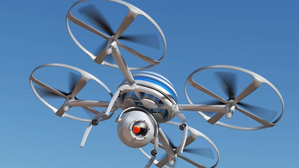 Amazon patenta un dron que recargará tu coche eléctrico