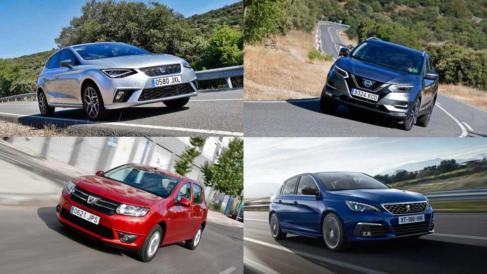 Los modelos de coches preferidos en España