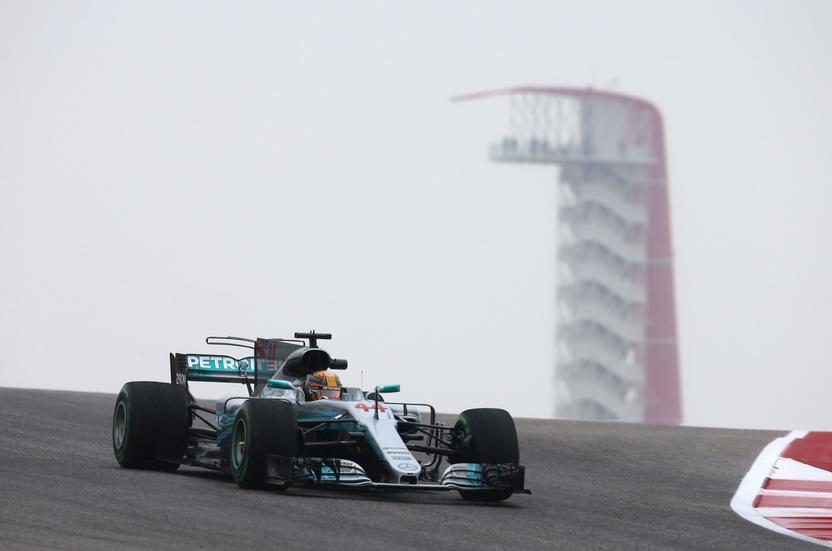 GP de USA: Hamilton domina los primeros libres