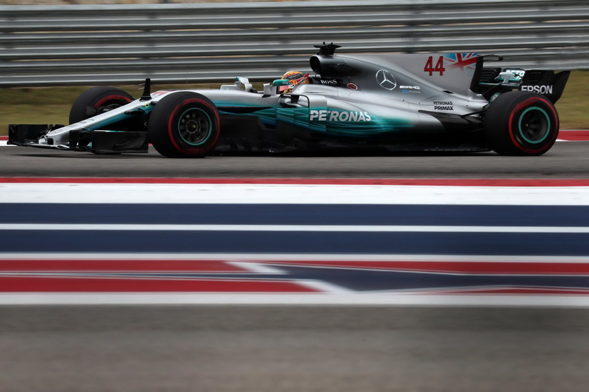 GP de USA: Hamilton parece imbatible en el COTA