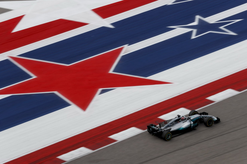 GP de USA: otra vez Hamilton