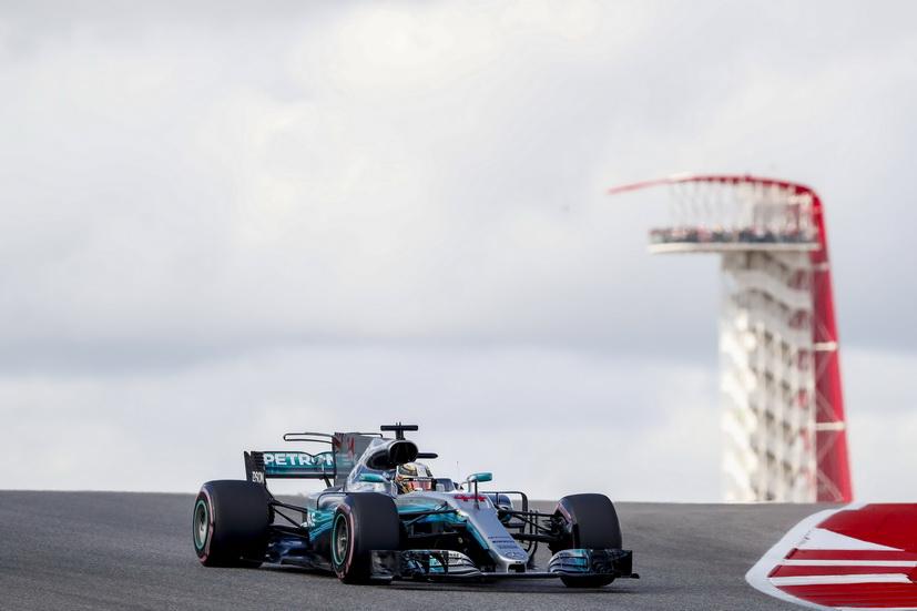 GP de USA: pole position para Lewis Hamilton