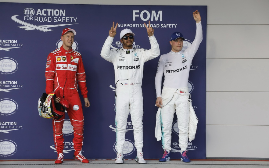 GP de USA: así queda la parrilla de salida