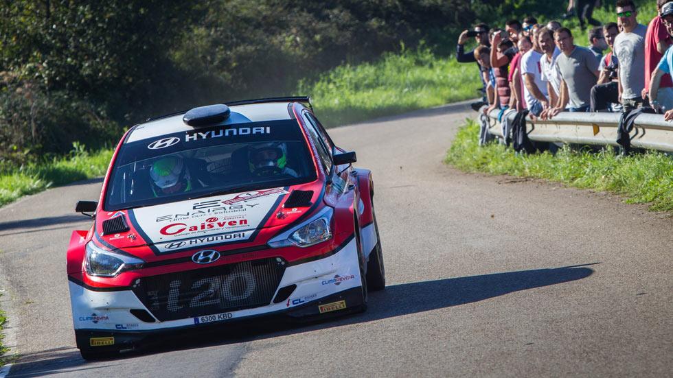 Hyundai e Iván Ares, campeones de España de rallyes