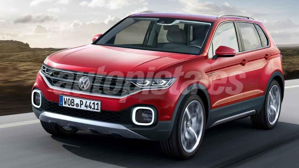 Volkswagen T-Cross: nuevo SUV para 2018 con la base del Seat Arona