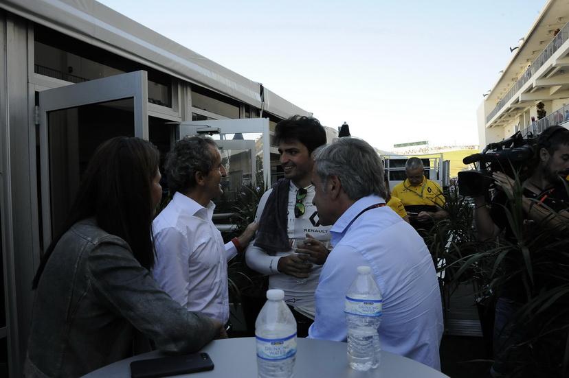 Fórmula 1: Alain Prost alaba la adaptación de Sainz a Renault