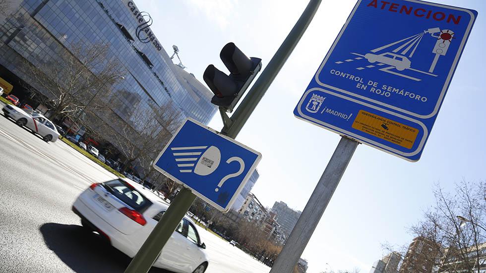 Se anula otra multa impuesta por el sistema foto-rojo en los semáforos de Madrid