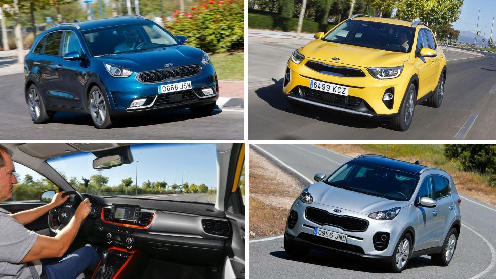 Kia Stonic CRDi vs Kia Niro vs Kia Sportage CRDi: ¿qué SUV interesa más?