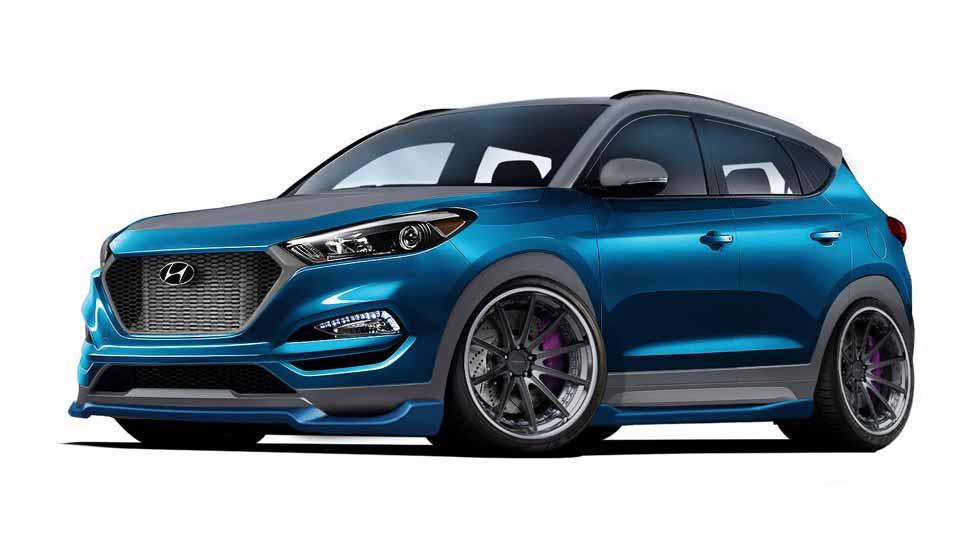 Hyundai Tucson Sport Concept: tiembla con el nuevo SUV deportivo