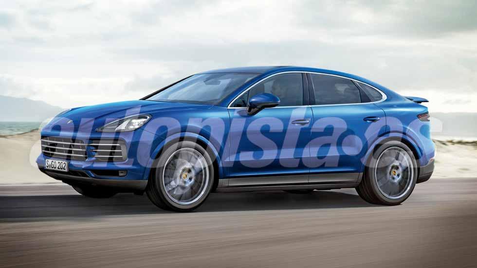 Porsche Cayenne Coupé: nuevo SUV deportivo, en 2018