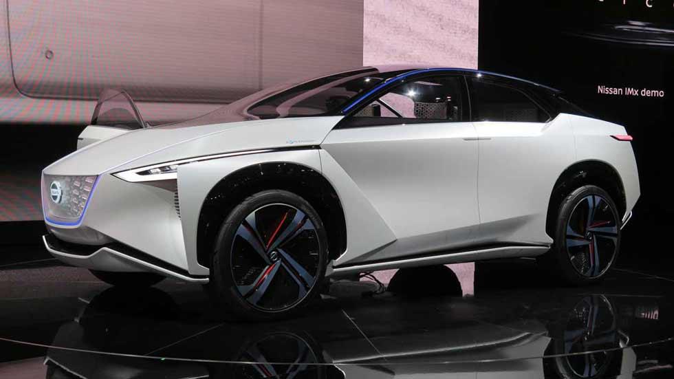 Nissan IMx Concept: así podría ser un SUV eléctrico basado en el Leaf