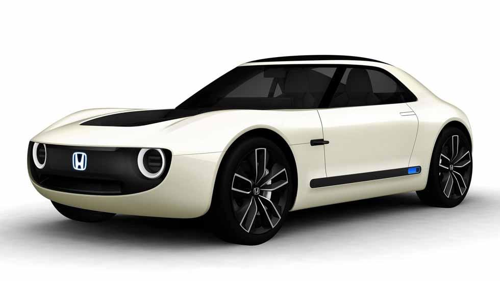 Honda Sports EV Concept: el coche deportivo del futuro con líneas retro