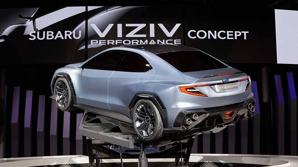 Subaru VIZIV Concept Performance, la tecnología y el diseño de los Subaru del futuro
