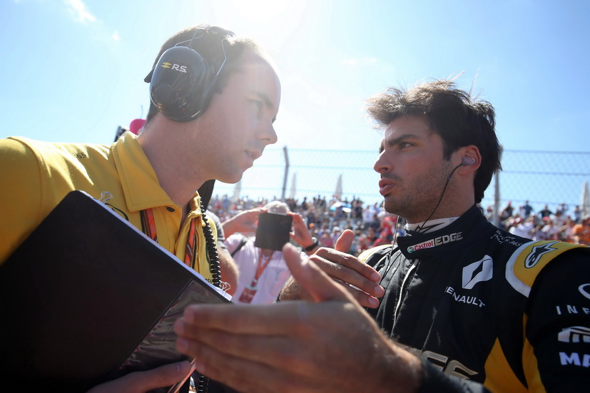 """GP de México: """"Tenemos que seguir así"""", comenta Sainz sobre su actuación con Renault en Austin"""