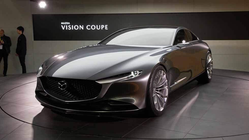Mazda Vision Coupé Concept: arte, tecnología y fusión con el ser humano