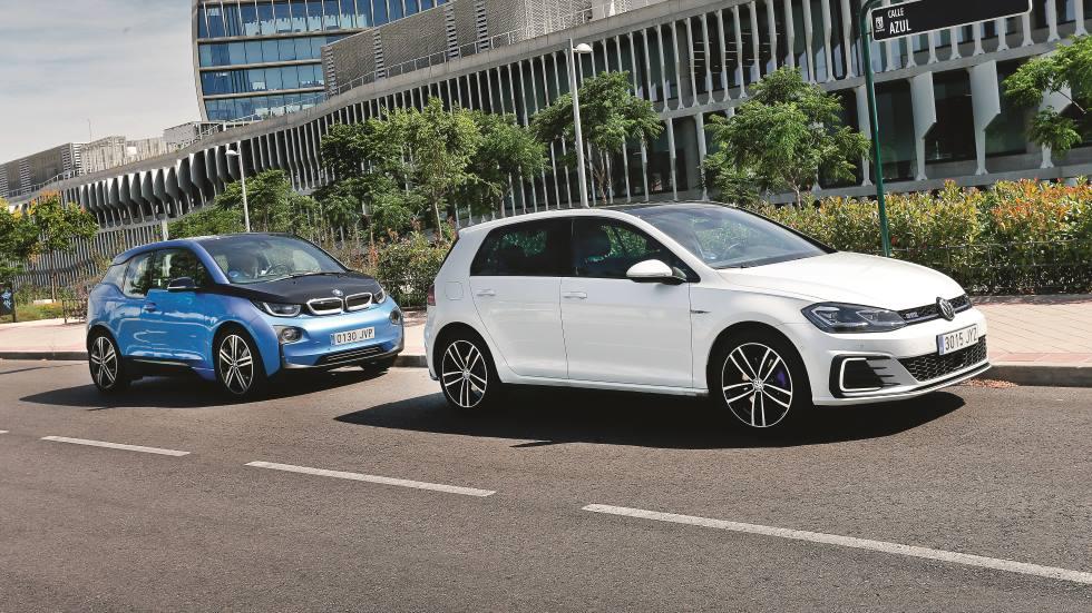 VW Golf GTE vs BMW i3 REX: costes, autonomía eléctrica real, espacio…
