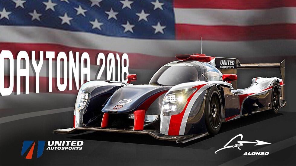 Fernando Alonso correrá en las 24 Horas de Daytona 2018