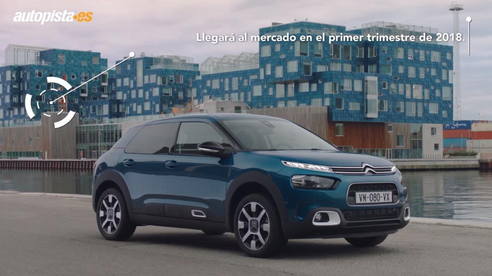 Citroën C4 Cactus 2018: primer VÍDEO del nuevo modelo revolucionario