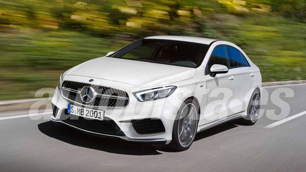 Mercedes clase a 2018 v deo y m s datos del nuevo for Mercedes benz clase a 2018