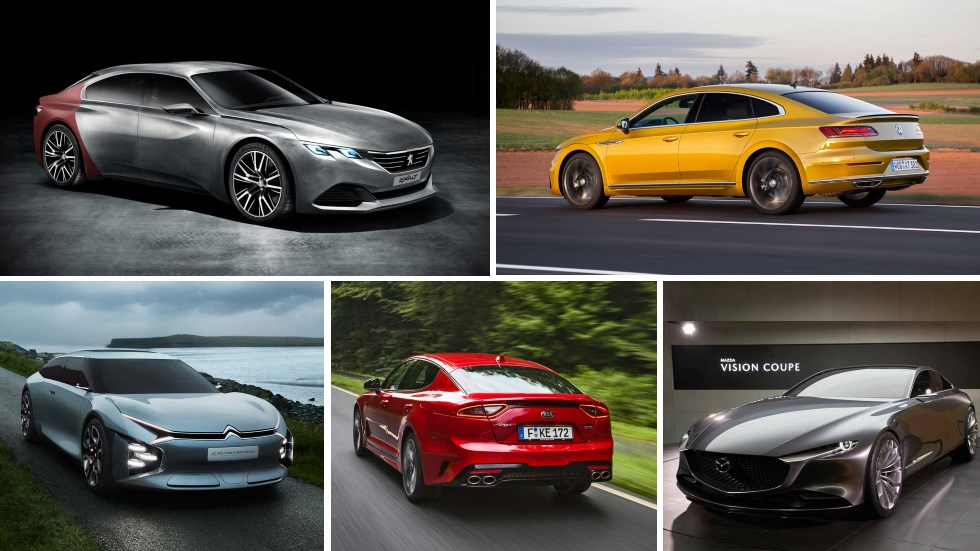 La reinvención de la berlina: Peugeot 508, VW Arteon, Kia Stinger, C5 2020…