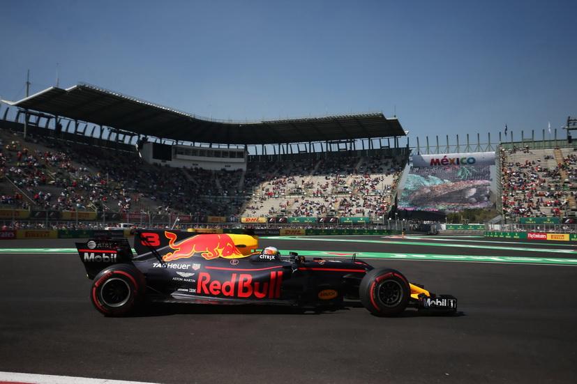 GP de México: Ricciardo, el más rápido y sin usar el ultra blando