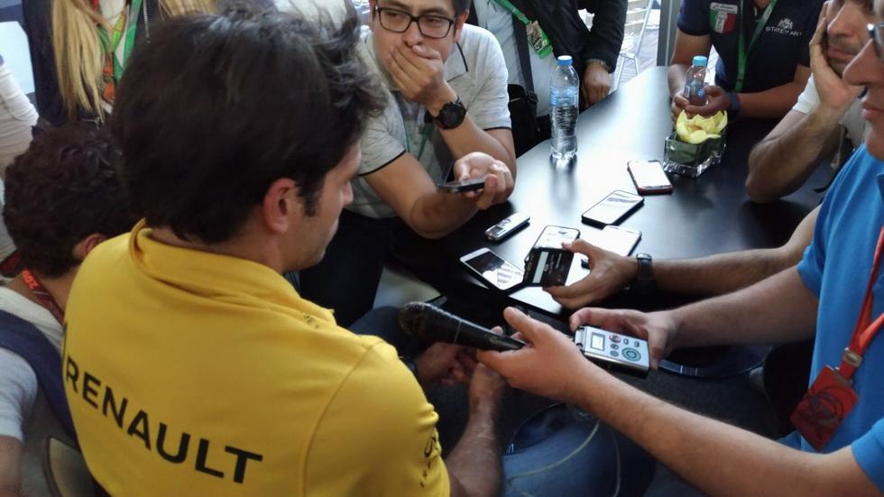 GP de México: Sainz se clasificó undécimo
