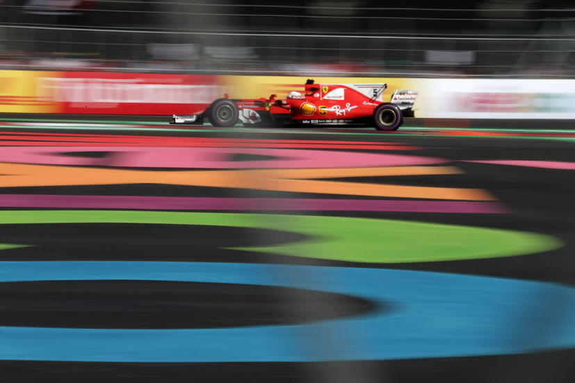 GP de México: impresionante pole position de Vettel