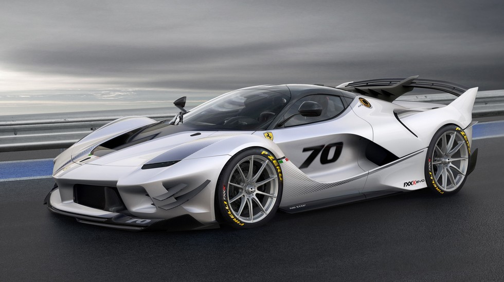 Ferrari FXX K-Evo: ahora, con notables mejoras aerodinámicas