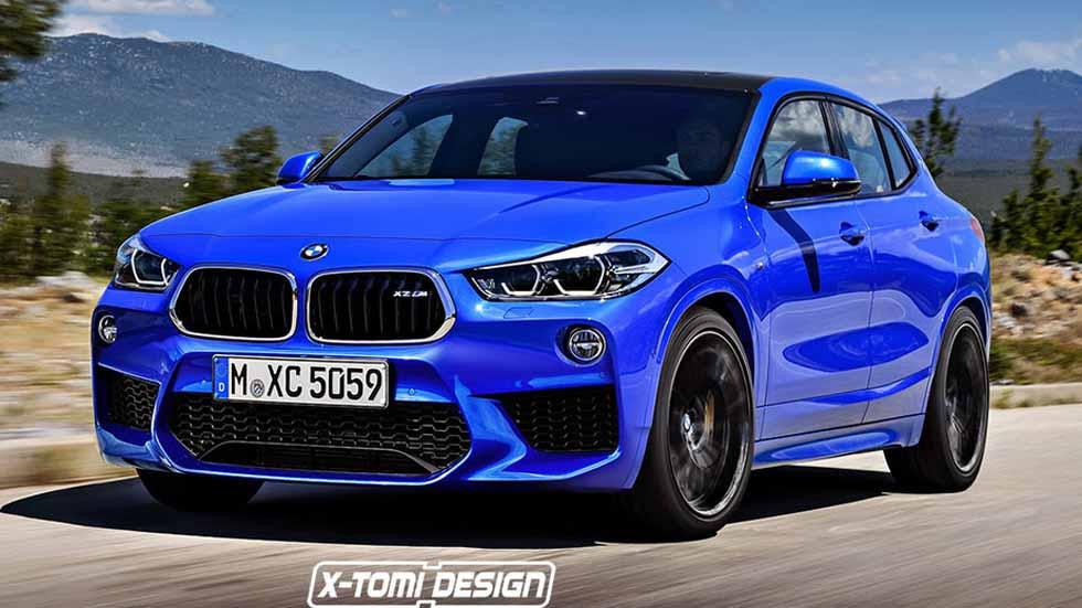 BMW X2M: así podría ser el nuevo SUV deportivo