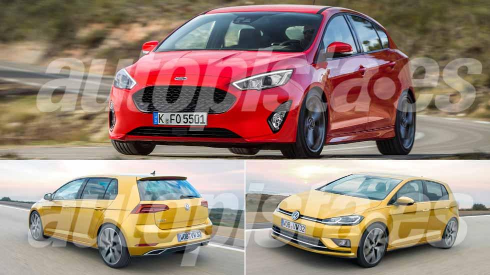 Revista Autopista 3028: los Volkswagen Golf y Ford Focus del futuro