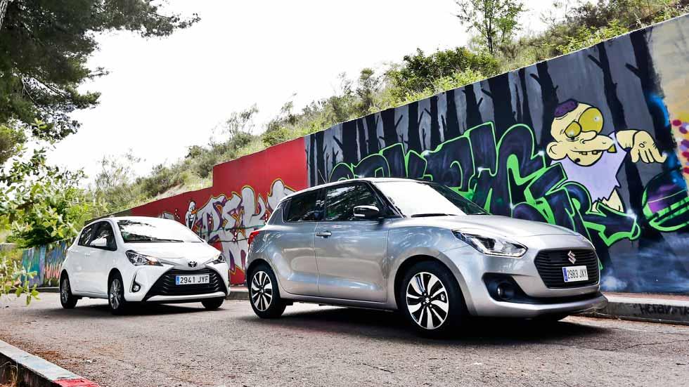 Suzuki Swift vs Toyota Yaris: buscamos el mejor utilitario de gasolina