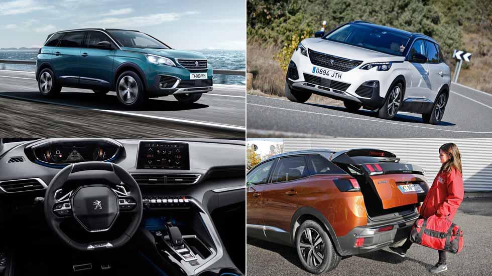 Peugeot 3008 y 5008: los SUV estrenan cambio  automático de ocho marchas