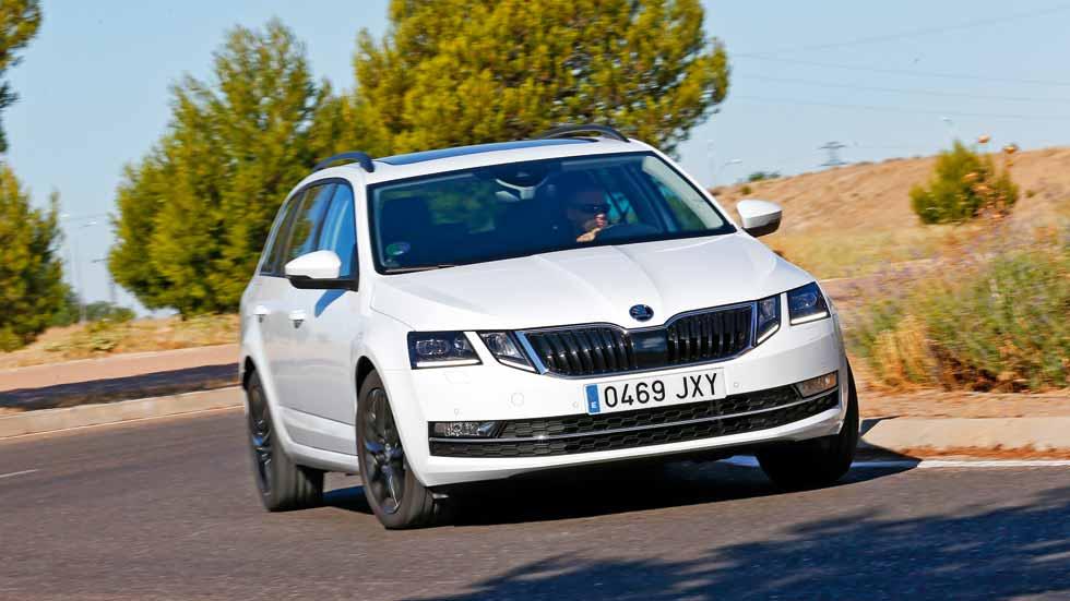 Skoda Octavia Combi GNC: a prueba un coche de gas de lo más completo