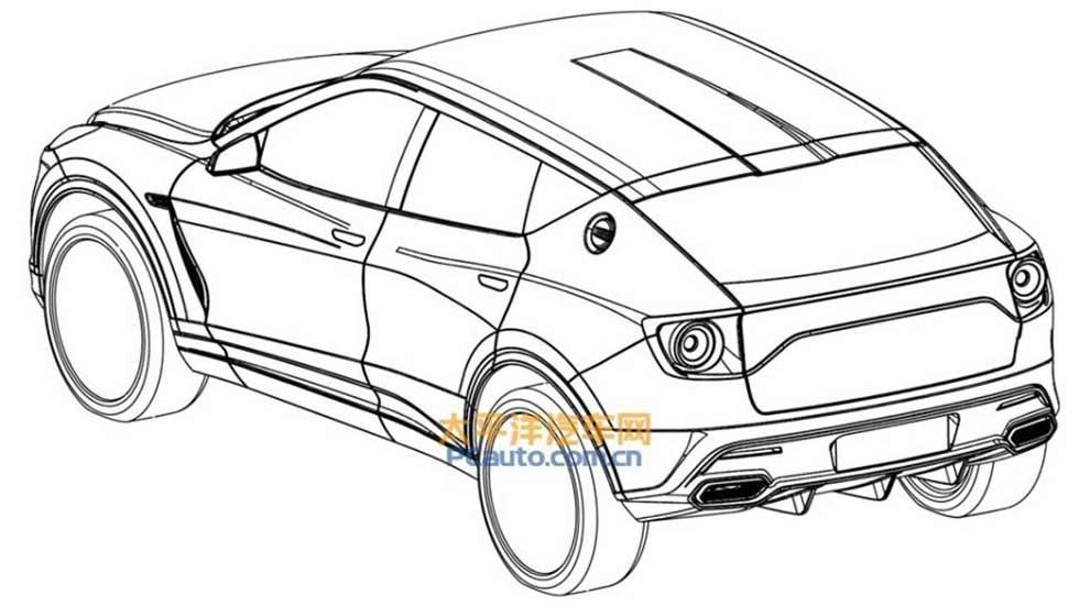 El nuevo SUV de Lotus, revelado en sus patentes: así será…