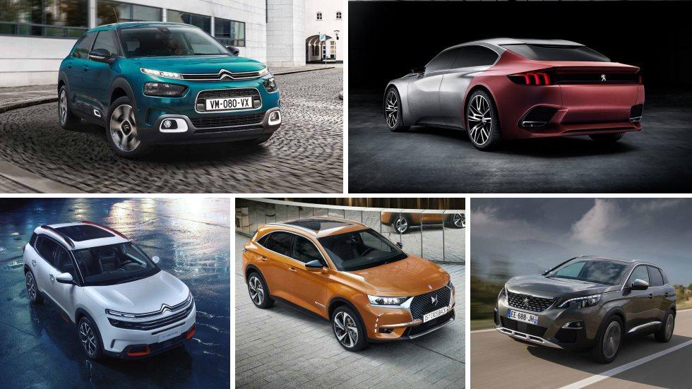 Las novedades de Citroën, Peugeot y DS en 2018: C4 Cactus, C5 Aircross, 508, 3008…