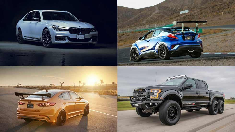 Lo mejor del SEMA 2017: del Hyundai Tucson Sport al Toyota C-HR de carreras
