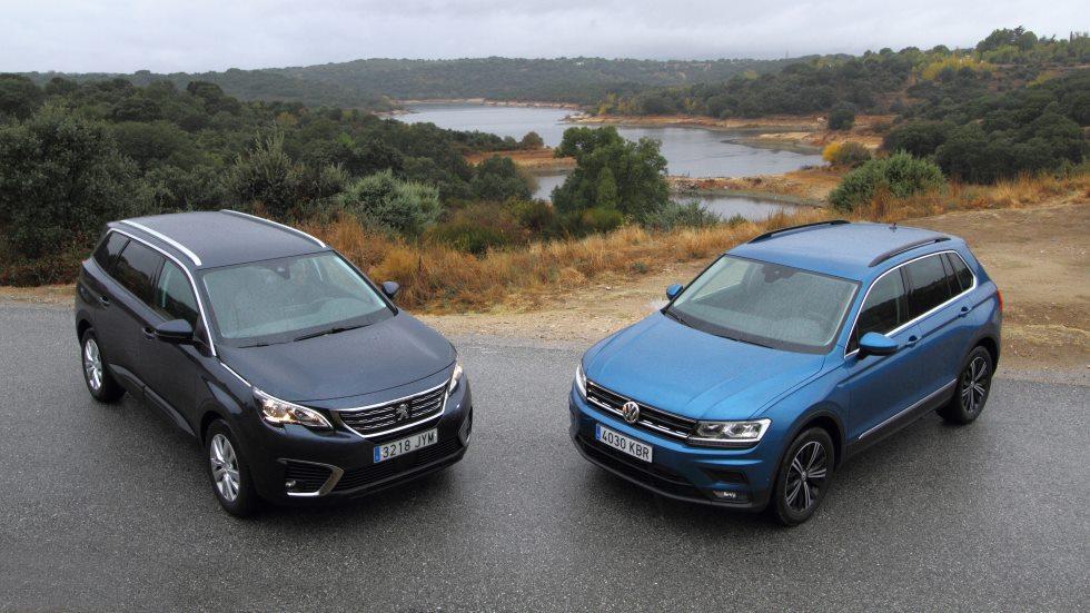Peugeot 5008 1.6 BlueHDI vs VW Tiguan 2.0 TDI: ¿qué SUV es mejor?