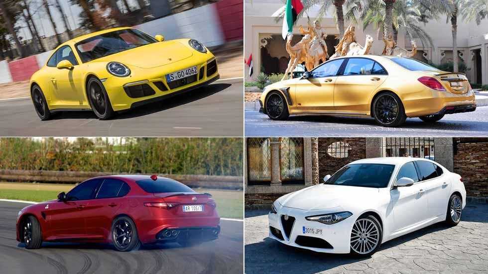 Los colores de los coches con mejor y peor precio de reventa