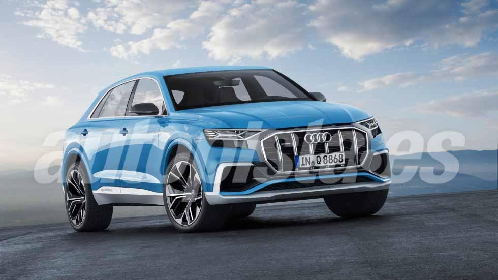 Audi Q8: más datos, fotos y vídeo del SUV más esperado de 2018