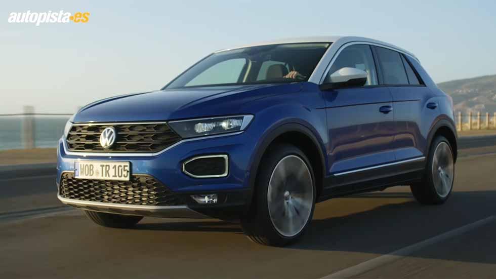 Así es el nuevo SUV Volkswagen T-Roc: VÍDEO en movimiento