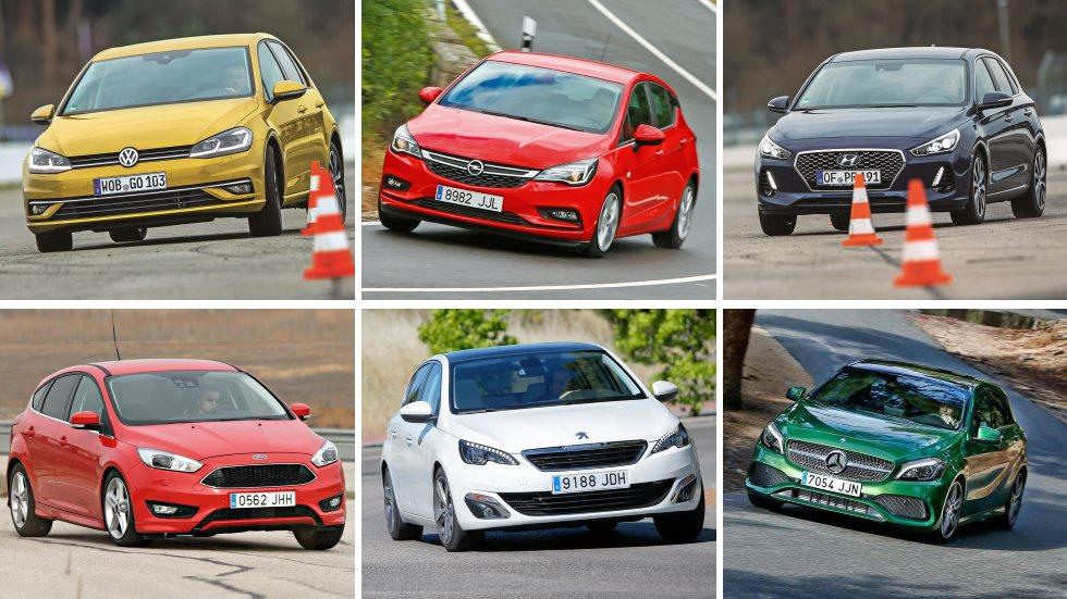 ¿El mejor compacto gasolina? Comparativa: Focus, i30, Golf, Astra, 308, León…