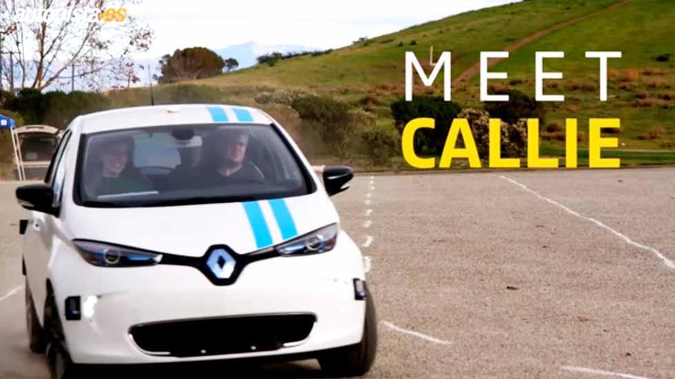 """Renault Zoe """"Callie"""", así es el coche-piloto que evita obstáculos (VÍDEO)"""
